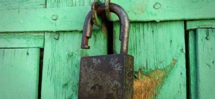 Webseiten Sicherheit grünes Schloss